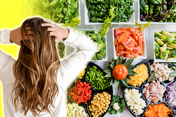 Test for food allergies by using your own hair